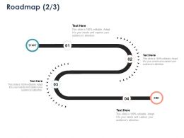 Roadmap Four Stage L1086 Ppt Powerpoint Presentation Summary
