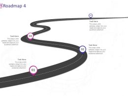 Roadmap Four Stage L979 Ppt Powerpoint Presentation Summary Inspiration