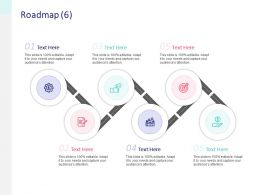 Roadmap Gears Ppt Powerpoint Presentation File Graphics Pictures