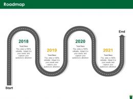 Roadmap Hazardous Waste Management Ppt Formats