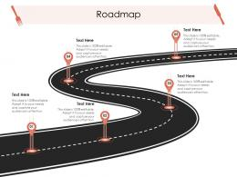 Roadmap Hotel Management Industry Ppt Structure