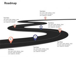 Roadmap Investigation For Investment Ppt Powerpoint Presentation Layouts Slideshow
