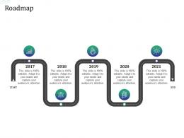 Roadmap Investment Pitch Raise Funds Financial Market Ppt Inspiration Icons