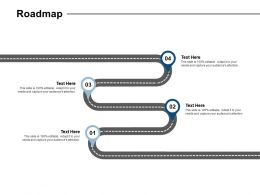 Roadmap Location Information L30 Ppt Powerpoint Presentation Slide