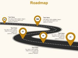 Roadmap Location Strategy C894 Ppt Powerpoint Presentation Gallery Slides