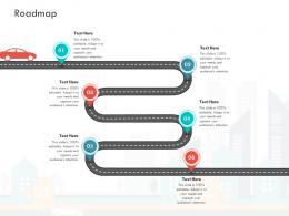 Roadmap Loss Revenue Financials Decline Automobile Company Ppt Slides Picture