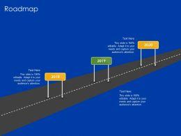 Roadmap N308 Ppt Powerpoint Presentation Templates