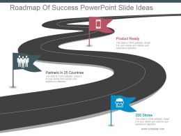 Roadmap Of Success Powerpoint Slide Ideas