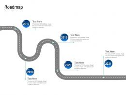 Roadmap Poor Network Infrastructure Of A Telecom Company Ppt Designs