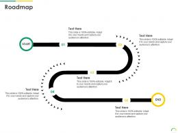 Roadmap Post IPO Equity Investment Pitch Ppt Formats