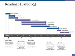 Roadmap Powerpoint Presentation Templates