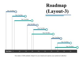 Roadmap Powerpoint Shapes