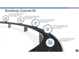 Roadmap Powerpoint Slide