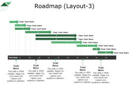 Roadmap Powerpoint Slide Background Designs