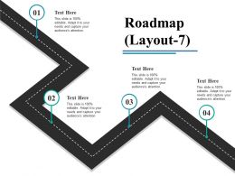 Roadmap Powerpoint Slide Backgrounds