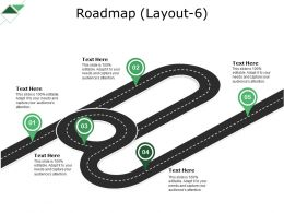 Roadmap Powerpoint Slide Clipart