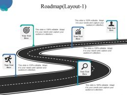 Roadmap Powerpoint Slide Designs