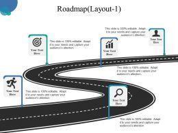 29283880 Style Essentials 1 Roadmap 5 Piece Powerpoint Presentation Diagram Infographic Slide