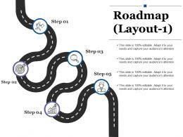 Roadmap Powerpoint Slide Presentation Sample