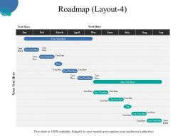 Roadmap Powerpoint Slide Rules