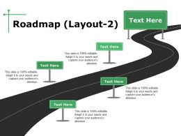 Roadmap Powerpoint Slide Themes