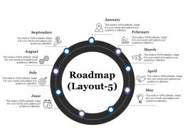 48257717 Style Essentials 1 Roadmap 9 Piece Powerpoint Presentation Diagram Infographic Slide