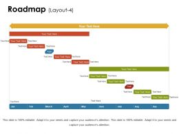 90201601 Style Essentials 1 Roadmap 3 Piece Powerpoint Presentation Diagram Infographic Slide