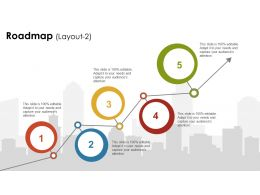 25548691 Style Essentials 1 Roadmap 5 Piece Powerpoint Presentation Diagram Infographic Slide