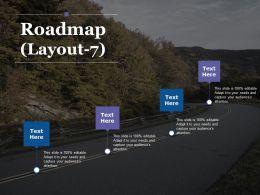 807889 Style Essentials 1 Roadmap 4 Piece Powerpoint Presentation Diagram Infographic Slide