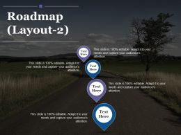 Roadmap Ppt Infographic Template