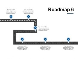 Roadmap Ppt Powerpoint Presentation Layouts Design Inspiration