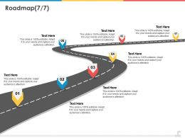 Roadmap Ppt Powerpoint Presentation Summary Infographics