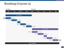 Roadmap Ppt Samples Download