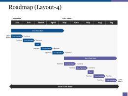 Roadmap Ppt Samples Download