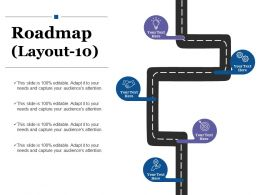 Roadmap Ppt Summary Graphics Tutorials