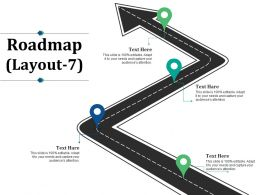 Roadmap Ppt Summary Master Slide