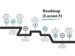 Roadmap Ppt Visual Aids Diagrams