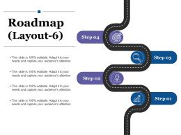 Roadmap Ppt Visual Aids Gallery