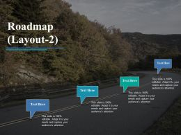 Roadmap Presentation Diagrams