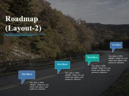 65009808 Style Essentials 1 Roadmap 4 Piece Powerpoint Presentation Diagram Infographic Slide