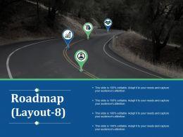 86182440 Style Essentials 1 Roadmap 4 Piece Powerpoint Presentation Diagram Infographic Slide