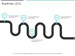 Roadmap Process A1023 Ppt Powerpoint Presentation Infographic Template Graphics Example