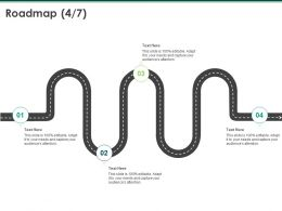 Roadmap Process A1046 Ppt Powerpoint Presentation Ideas Diagrams