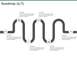 Roadmap Process A1048 Ppt Powerpoint Presentation Slides Format Ideas