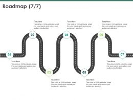 Roadmap Process A1049 Ppt Powerpoint Presentation Infographics Picture