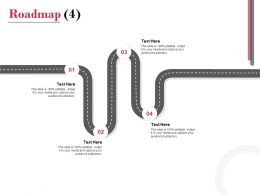 Roadmap Process A1116 Ppt Powerpoint Presentation Outline File Formats