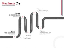 Roadmap Process A1117 Ppt Powerpoint Presentation Professional Icons