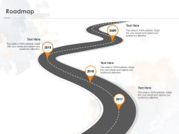 Roadmap Process A1122 Ppt Powerpoint Presentation Slides Example File