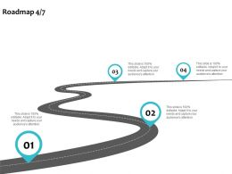 Roadmap Process A1130 Ppt Powerpoint Presentation Infographic Template Shapes
