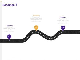 Roadmap Process A864 Ppt Powerpoint Presentation Model Graphics Design